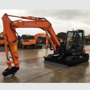 2014 HITACHI ZX85USB 5A